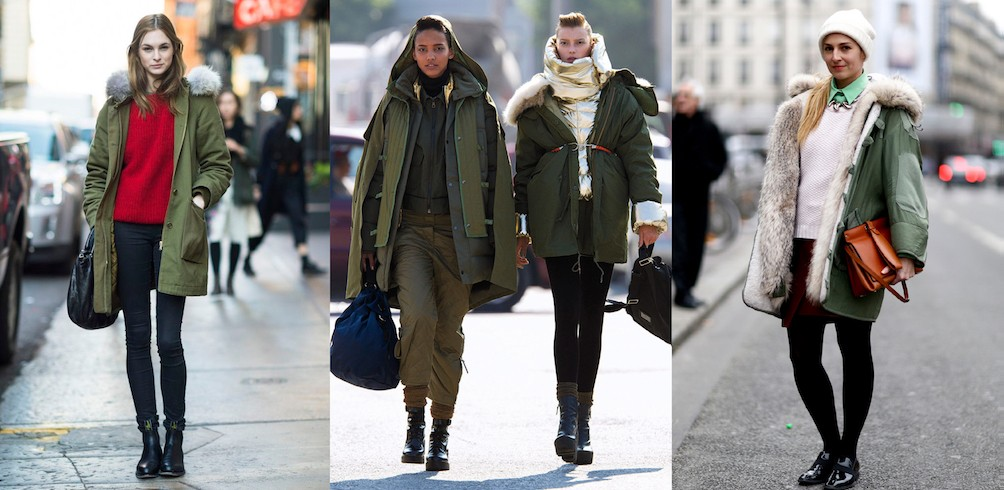 2017 Fashion Trends : Parka   Taste of Life 品位巴黎