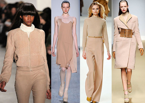 Nude color fashion -the most popular fashion in 2010 A/W   Fashion1988's Blog