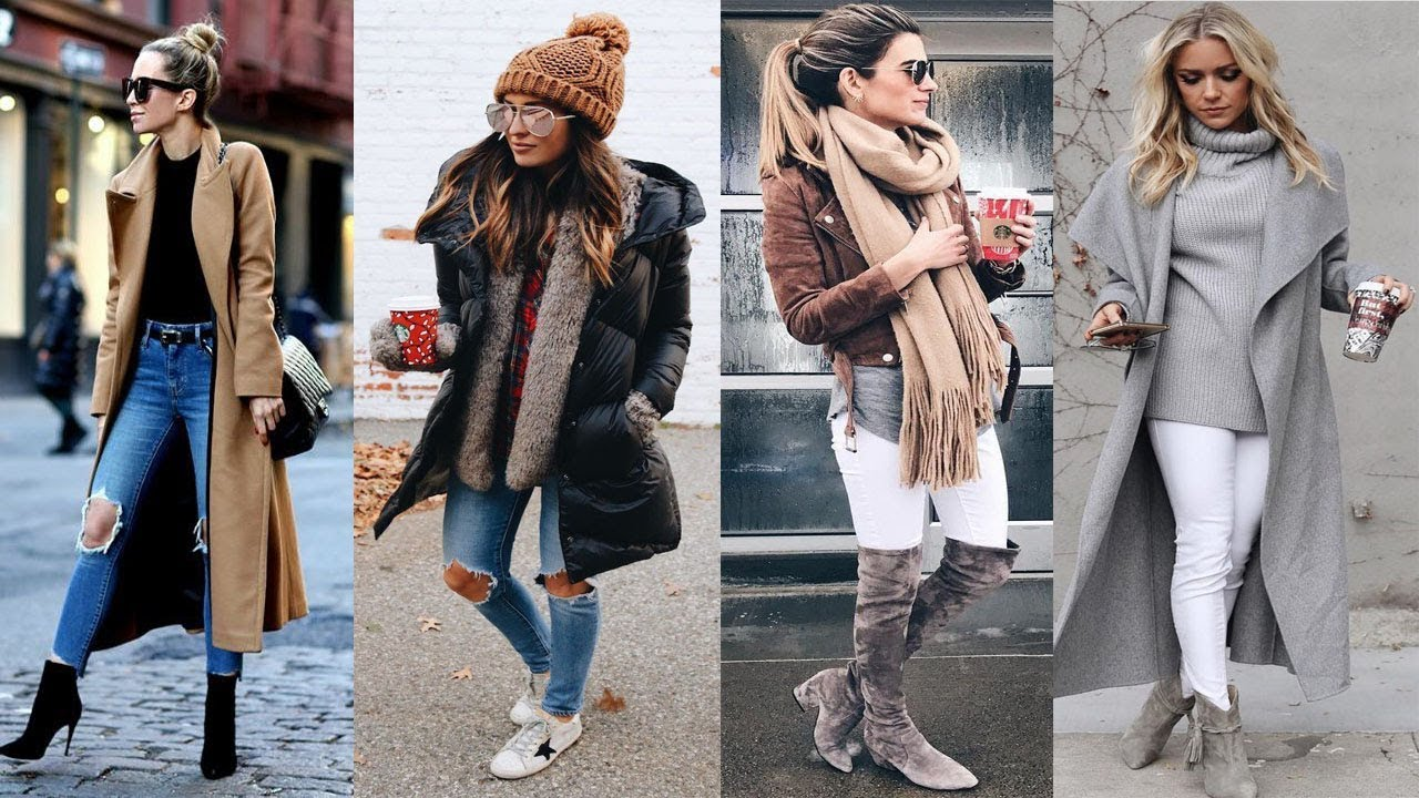 Cute Winter Outfits Ideas for Girls & Women - YouTube