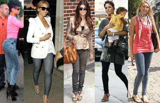 Street Fashion: Jeans+Leggings=Jeggings   Be-mod.com