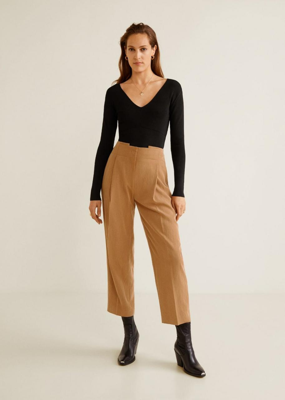 Here's What To Wear With Brown Pants In 21 Chic Outfits   I AM & CO®