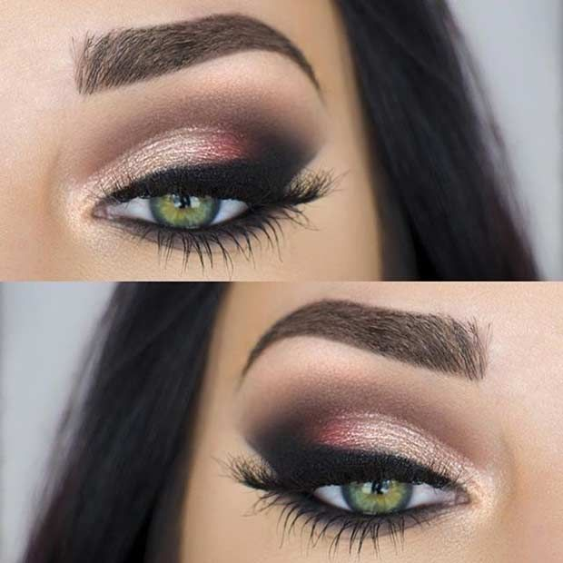 Techniques pour appliquer le fard à paupières sur les yeux verts